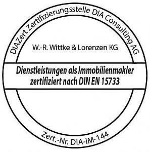 Wir sind zertifiziert nach DIN EN 15733